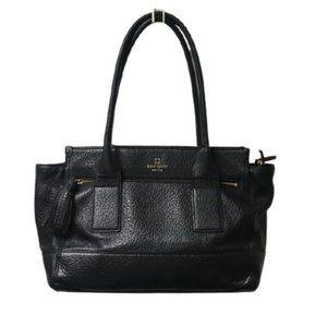 Kate Spade Harmony Black Leather Tassel Shoulder B